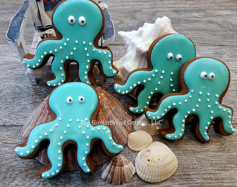 """Under the Sea"" Cookies - Dozen"