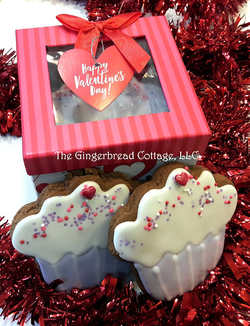 Valentine Cupcake Cookie ~ 5