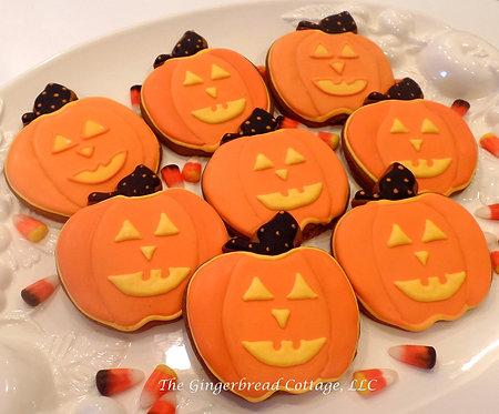 Smiling Pumpkins - Dozen
