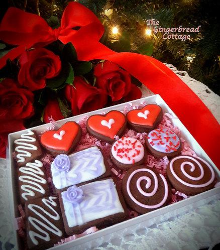 Valentine Gourmet Gift Box Mini's -12