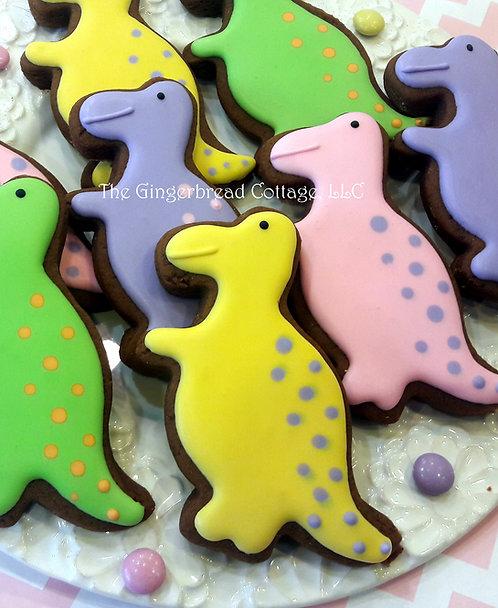 Dinosaur Cookies ~ Dozen