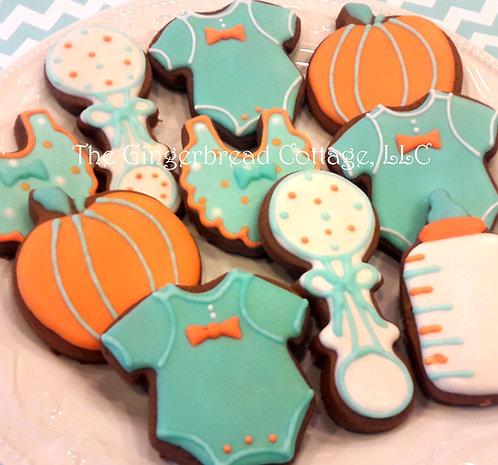 Baby Cookies Medium 2 1/2 to 3 inch: - Dozen