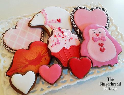 Valentine Polar Bear Love