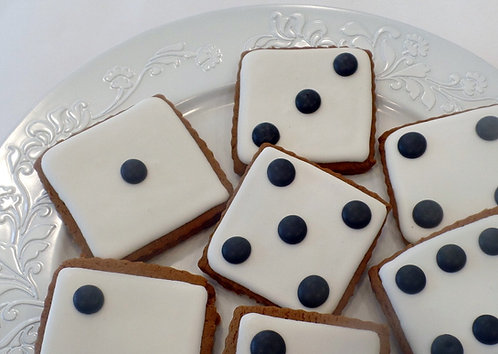 Dice Cookies - Dozen