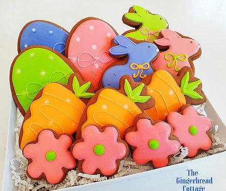 Easter Bunny Hop - 13 Cookies