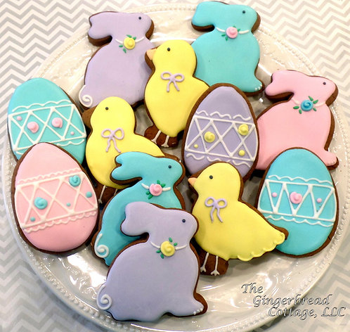 Easter Cookie Platter- Dozen
