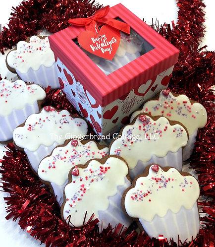 Valentine Cupcake Cookies ~ 9