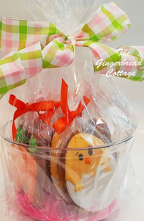 Darling Easter Basket - Ten Cookies
