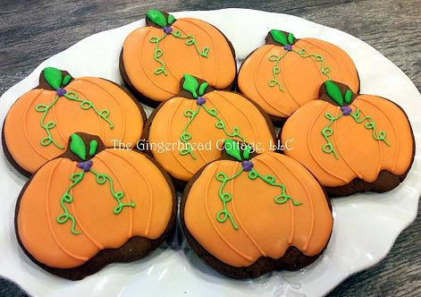 Pumpkins/Fall Cookies - Dozen