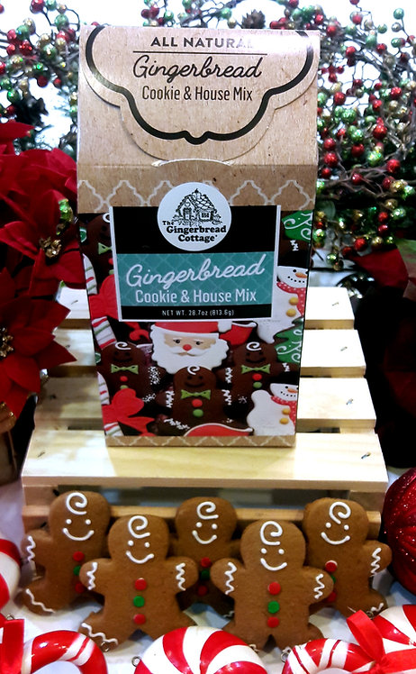 "Gingerbread Cookie Mix ""Double Batch"" - 29 oz"