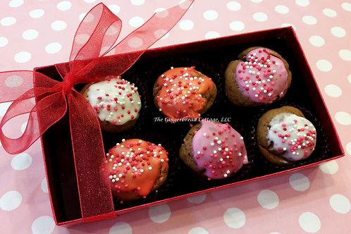 Valentine Gift Boxed Cookie Bites~ 6