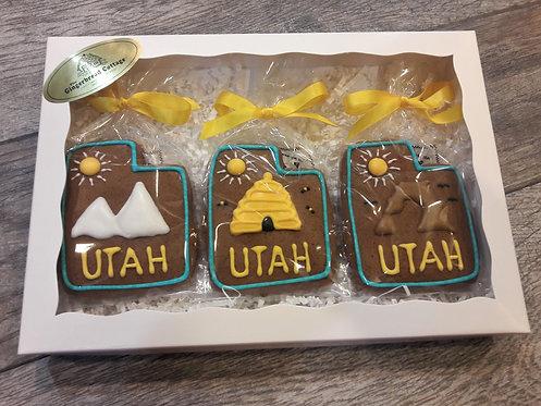 """""""Utah"""" Cookies Gift Box"""