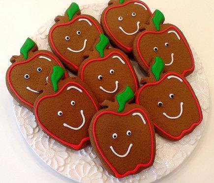 Apple Cookies- Dozen
