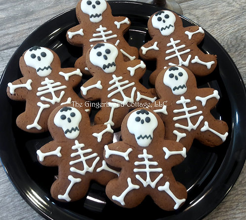 Halloween Skeleton Cookies - Dozen
