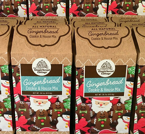Gingerbread Cookie & House Mix