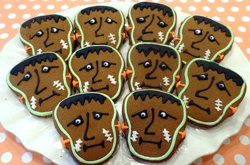 Frankenstein or Ghost Cookies - Dozen