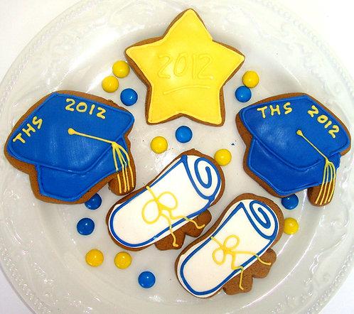 Graduation Favor Cookies- Dozen