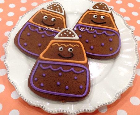 Candy Corn Cookies - Dozen