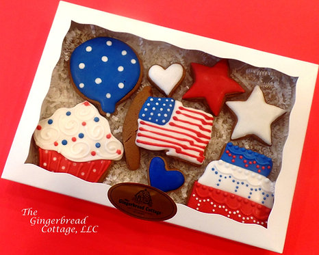 Fourth of July Cookie Gift