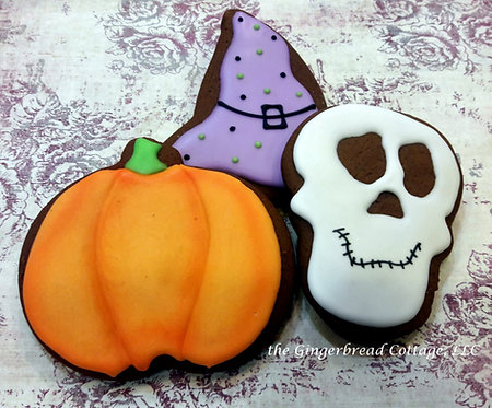 Halloween Gift Boxed - Three Cookies