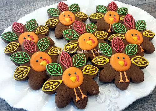 Turkey Cookies - Dozen