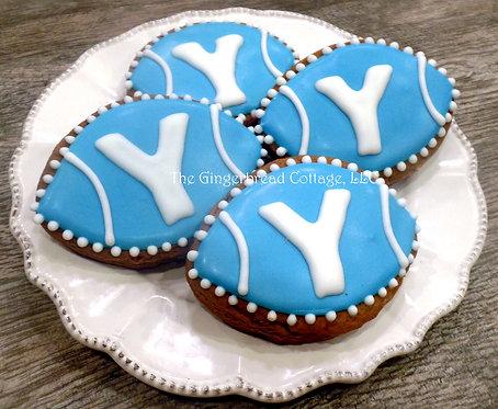 BYU Football Cookies - Dozen