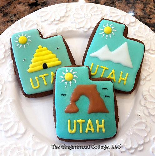 """""""Utah"""" Cookie Gift Set"""