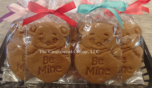 "Valentine ""Berry"" Cute Bears (No Icing)~ 6"