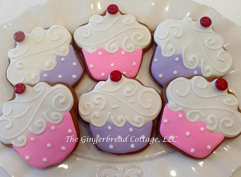 Cupcake Cookies ~ Dozen