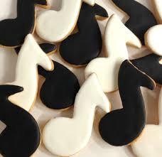 Music Note Cookies ~ Dozen