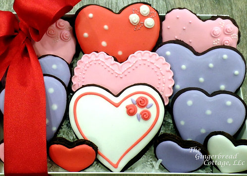 Beautiful Heart Cookies - 13