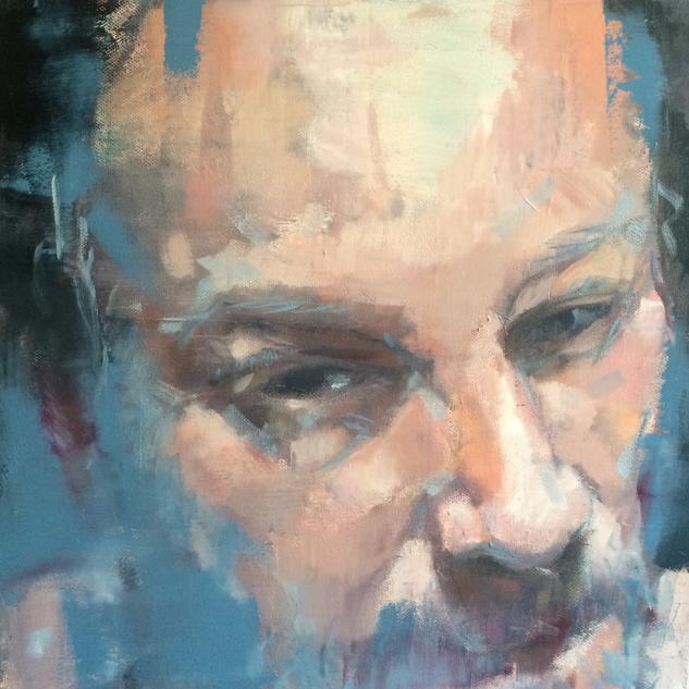 _Graham_ 300x300x70 mm OIL on canvas ZAR