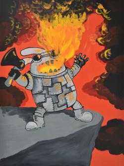 Огнедышащий зайка