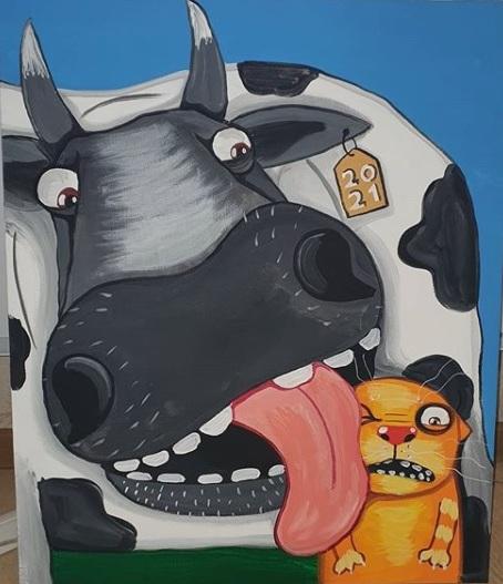 Календарь 2021. Корова