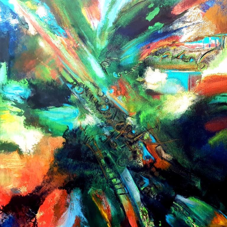 , ציור אבסטרקט, ציורים מופשטים