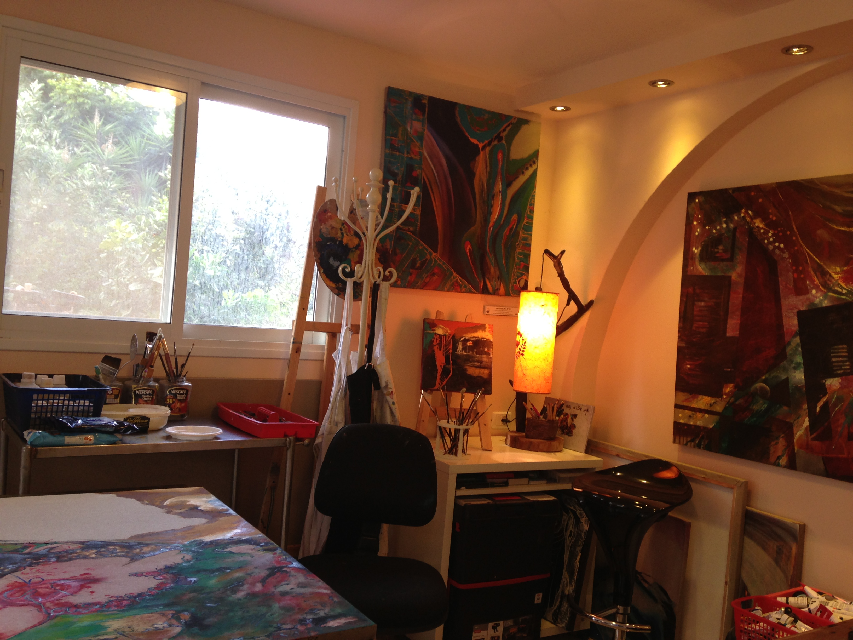 Studio work space