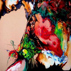 ציור מופשט, ציור אבסטרקט, ציירת רוף דורית