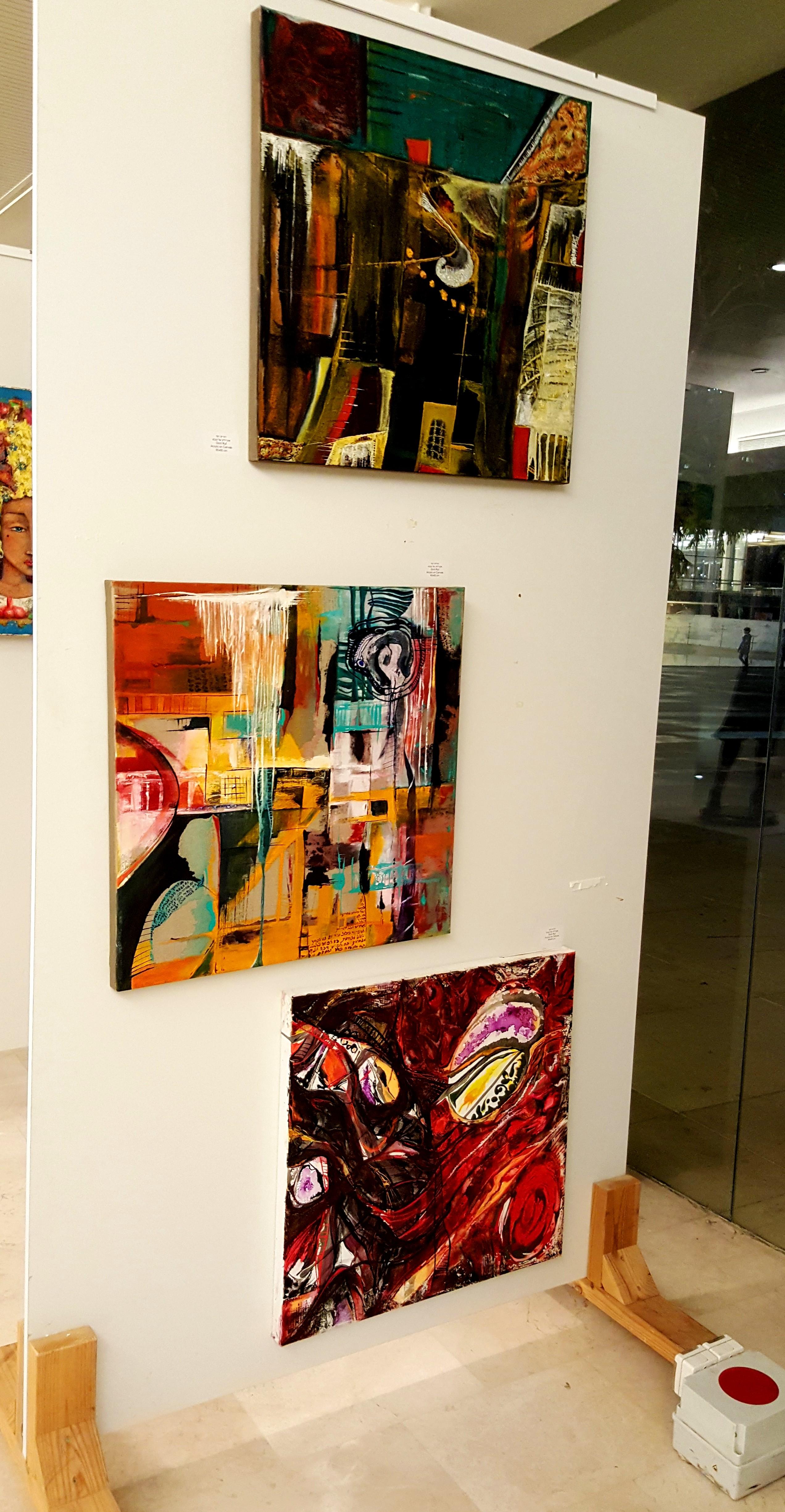 תערוכה בהבימה תל אביב