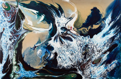 הנשמה, ציור אבסטרקט של הציירת דורית