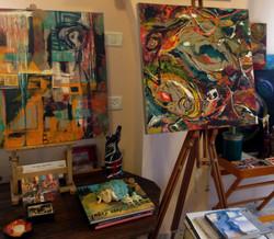 My studio art display