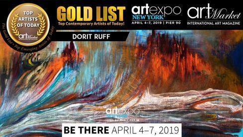 ArtexpoNY_Dorit_Ruff GOLD LIST