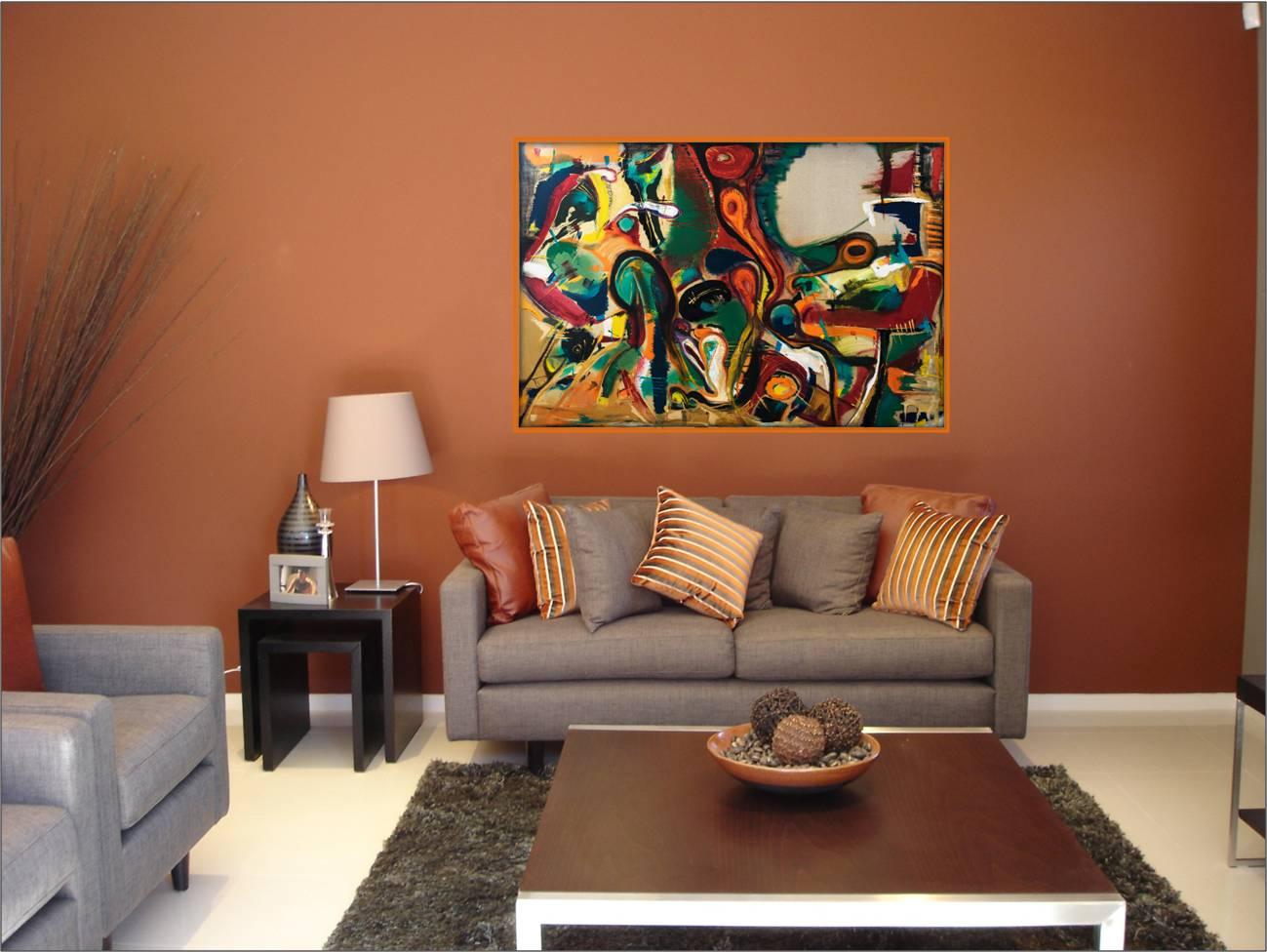 אומנות מקורית לסלון ציירת דורית ר