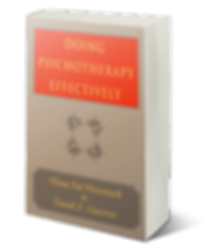 doing psychotherapy effectively bookcove