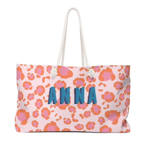 Leopard Oversided Tote