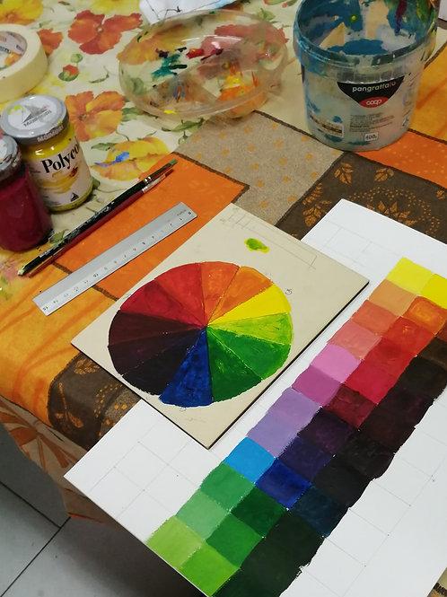 Corso di pittura base in 8 lezioni: alla scoperta del colore