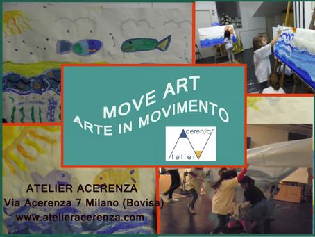 MOVE-ART, ovvero arte in movimento