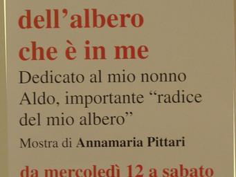 """mostra personale """"la storia dell'Albero che c'è in me"""""""