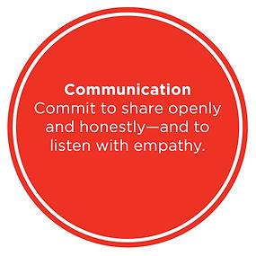 Three Core Values:Communication