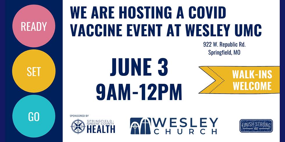 COVID-19 Vaccine Dose 1 Event