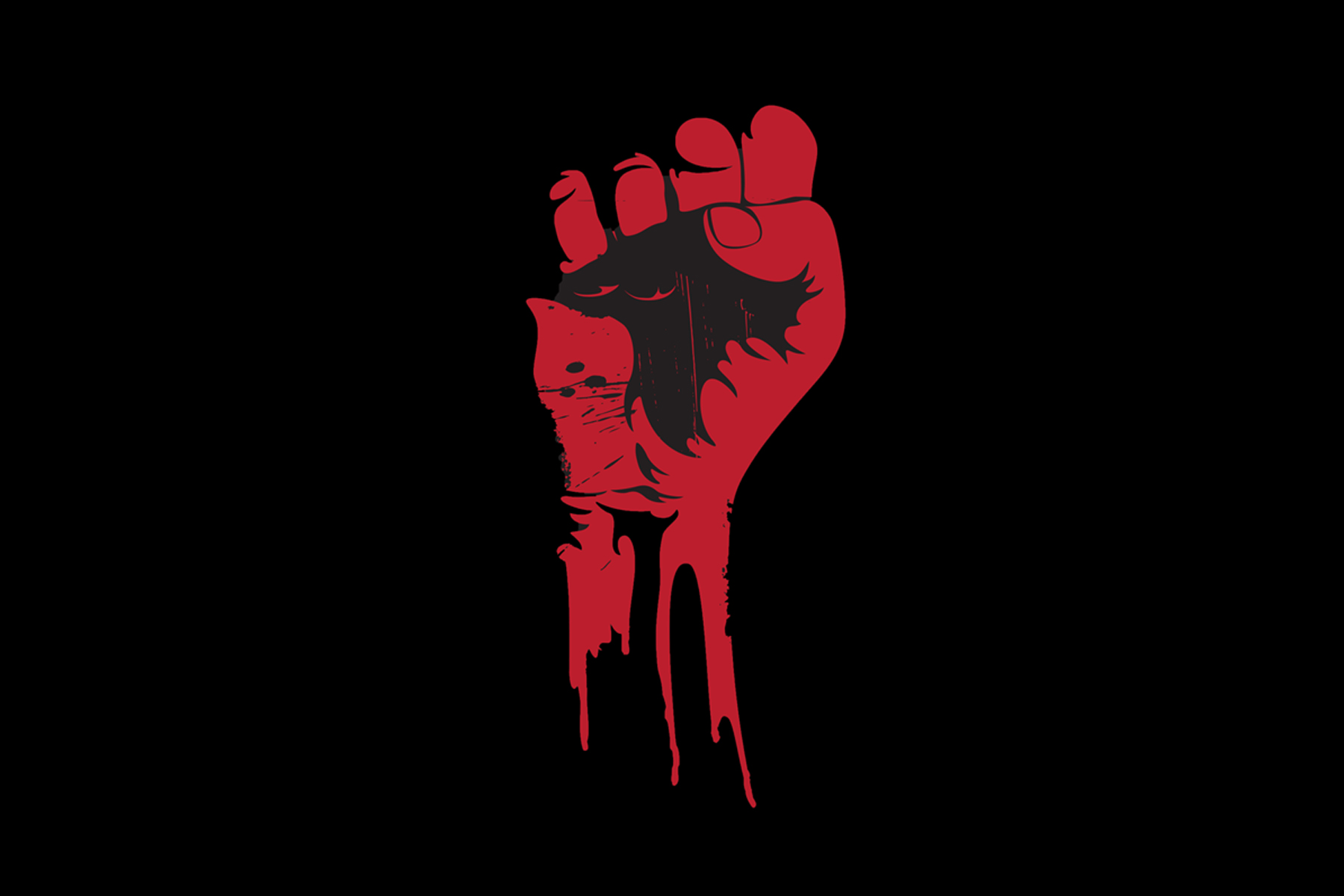 red-protest-fist